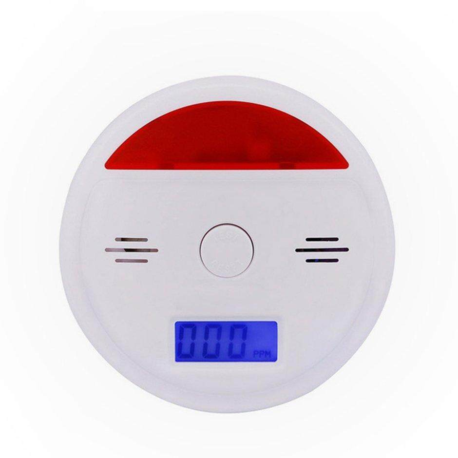XIN Composite Gas Carbon Monoxide Alarm Detector Coal Smoke Gas Leakage Detection