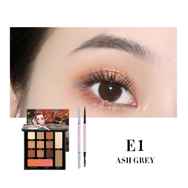 Buy IMAGIC Eye Makeup Sets Mermaid 13 Colors EY-334 Eyeshadow Palette + Eyebrow Pencil Singapore