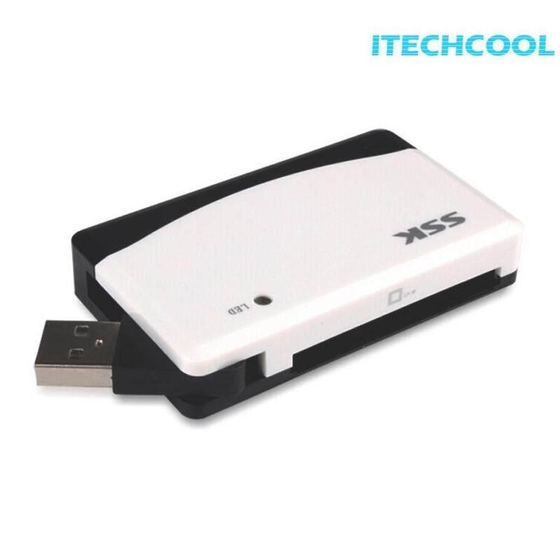 SSK SCRM057 Tất Cả trong 1 USB2.0 Đầu Đọc Thẻ Nhớ TF T-Flash MS Đọc Thẻ