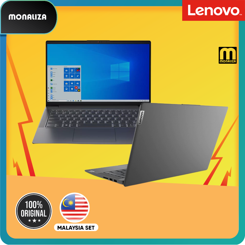 Lenovo Laptop Ideapad 5 14ITL05-82FE00D8MJ Graphite Grey (Intel Core i5-1135G7/NVIDIA GeForce MX450 2GB GDDR6) Malaysia