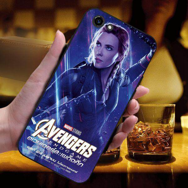 Avengers 3 Soft Silicon Black Phone Back Case Cover For Vivo Y83 Y81 By 3thshop.