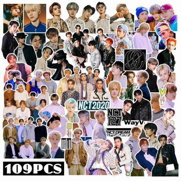 Mua Csbi 109 Cái/bộ Kpop NCT2020 NCT127 NCTDREAM Album Cách V PVC Dán, Album Cho Máy Tính Xách Tay Hành Lý Các Bản Vá Lỗi Skateboard Sticker