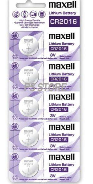 CR2016 GENUINE Maxell Japan Coin Cell Lithium Battery 3V Malaysia
