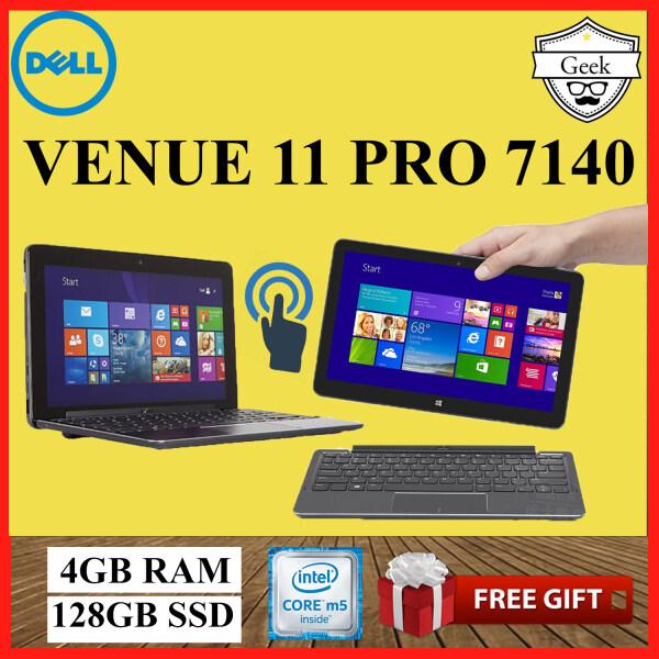 Dell Venue 11 Pro 7140 -Touchscreen - Core M5-5th Gen - 4GB RAM - 128GB SSD - 10.8 Inch - With Keyboard Malaysia