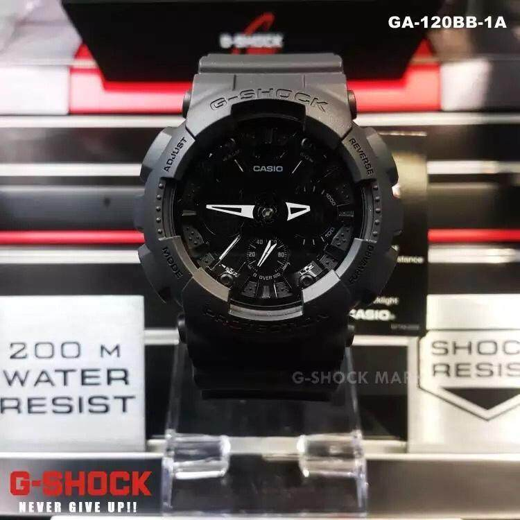 Casio Watch Male G-SHOCK Waterproof Shockproof Double Display Large Dial Sports Mens Watch GA-120-1A bán chạy
