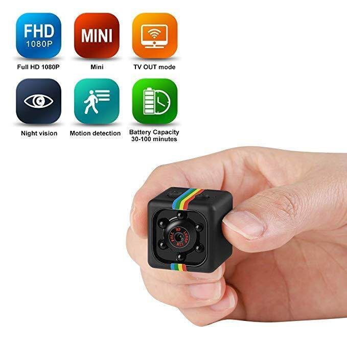 Mini Hidden Camera Portable Small Hd Nanny Cam 1080p/720p & Motion Detection &night Vision Perfect Indoor Covert Security Camera For Car, Drone, Office By South Ocean.