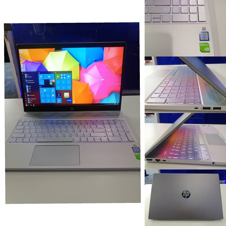 HP PAVILION 15-CS2  intel core i5-8265u 4GB RAM 256GB SSD 14 INCH NVIDIA GEFORCE MX250 2GB GRAPHIC Malaysia