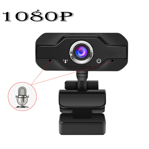 【Ready stock】Full HD 1080P Webcam Built-in Dual Mics Smart 1080P Web Camera USB Pro Stream Camera for Desktop Laptops PC Game Cam For OS Windows10/8