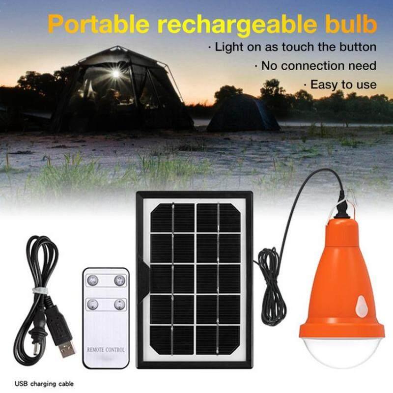 Bóng Đèn Năng Lượng Mặt Trời PER Với Điều Khiển Từ Xa Độ Sáng Có Thể Điều Chỉnh Đèn Sạc USB Chống Nước Cho Lều Cắm Trại Khẩn Cấp, Chiếu Sáng Ngoài Trời