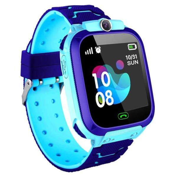 S12 Waterproof Smart Watch for Kids LBS Tracker SmartWatch SOS Call for Children Anti Lost Monitor Baby Wristwatch for Boy girls Malaysia