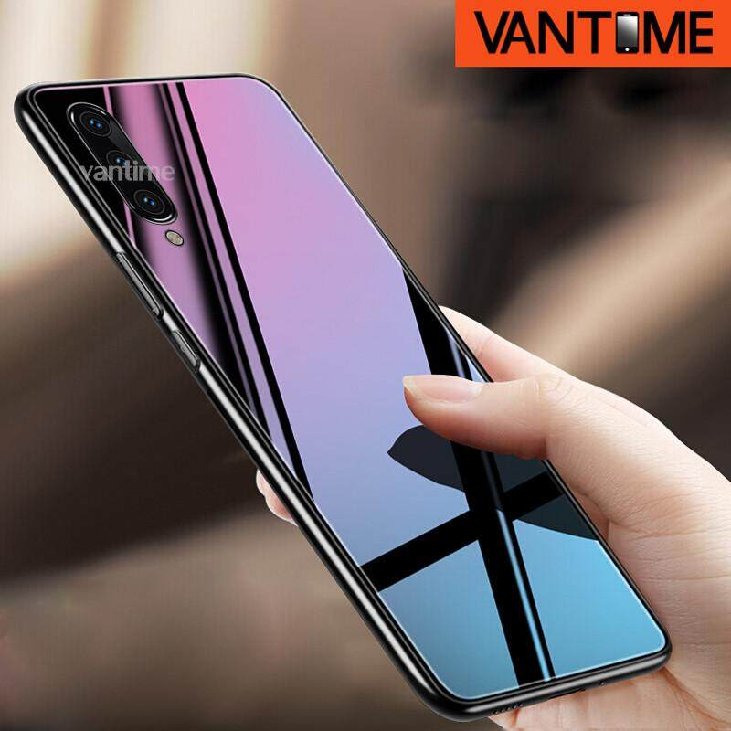 For Samsung Galaxy A50 Hard Case Tempered Glass TPU Mirror Hybrid Shockproof Full Body Protective Cover