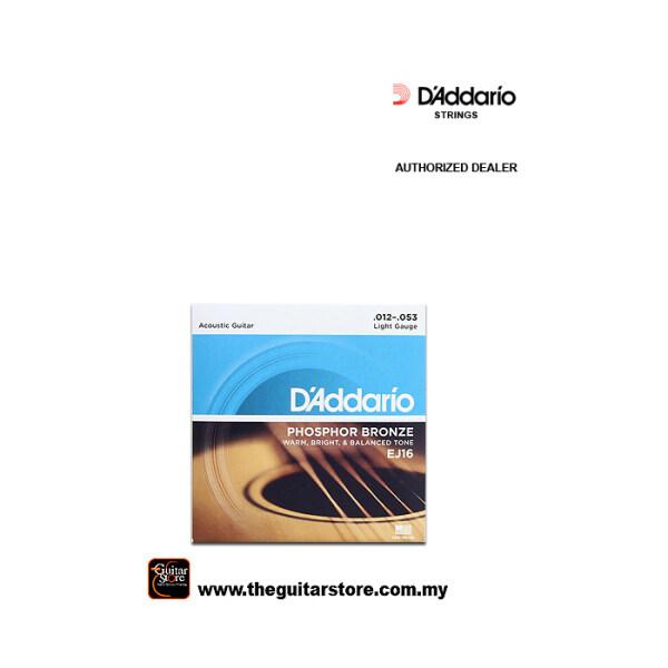 D'Addario EJ16 ACOUSTIC GUITAR STRINGS Malaysia