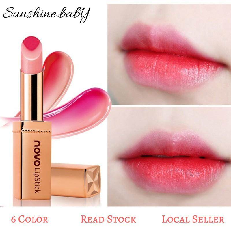 Korean Two Color Lips Tint Lipstick Lasting Waterproof Lip Balm