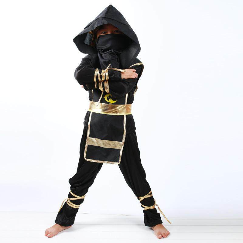 Ninja Costumes for kids Classic Halloween Costumes Children's Performance Clothes Ninja Clothes Naruto Suit Cos Cosplay Clothing Suit Without weapons