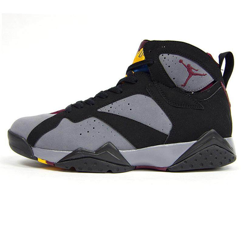 quality design 0a9aa edb2a Original Authentic Nik Air Jordan 7 Bordeaux AJ7 Bordeaux Women s  Basketball Shoes Sneakers Sport Outdoor Massage