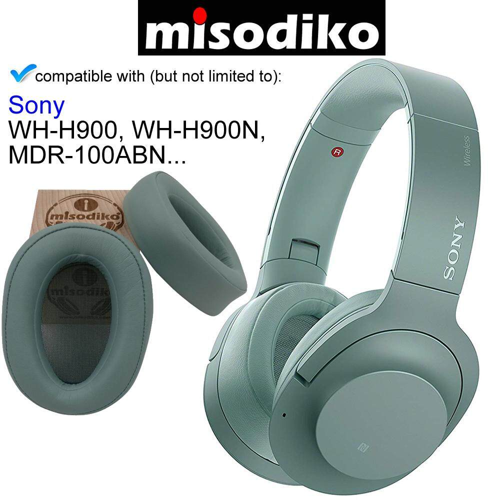 for Sony h.Ear on MDR-100ABN WH-H900N Evening Glow Headphones Repair Parts Earmuff Earpads Cup Pillow Cover misodiko Replacement Ear Pads Cushion Kit