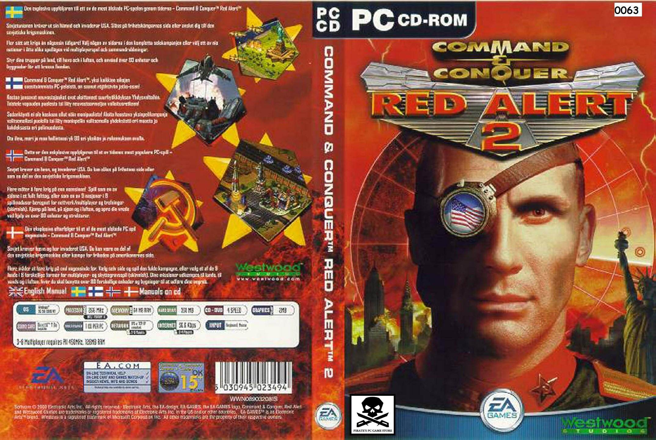 (pc) Command & Conquer Red Alert 2 By Pirates Pc Game Store.