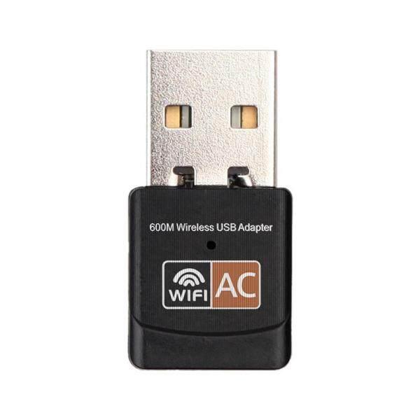 Bảng giá 600Mbps Băng Tần Kép 2.4G/5G Hz Mạng LAN Không Dây Mạng LAN Không Dây USB Bộ Chuyển Đổi Wifi Cho Máy Tính 802.11AC Phong Vũ