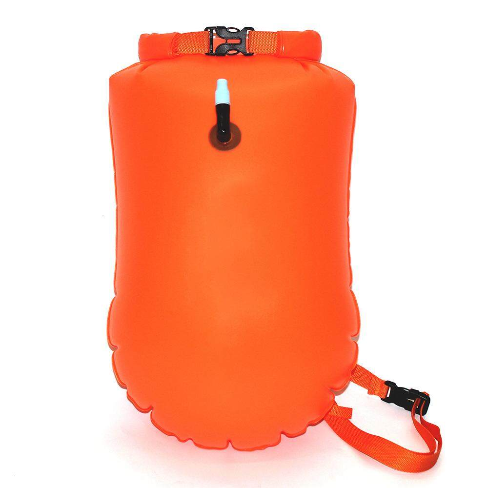 [xhgrtue467][Buy three for free shipping]MARJAQE 20L Inflatable Dry Waterproof Bag Lifesaving Kit Floating Gear for Boating Fishing Rafting Swimming