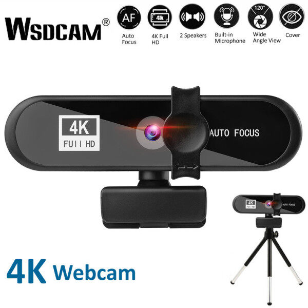 Ready Stcok 2K 4K Conference PC Webcam Autofocus USB Web Camera Laptop Desktop For Office Meeting Home With Mic 1080P HD Web Cam
