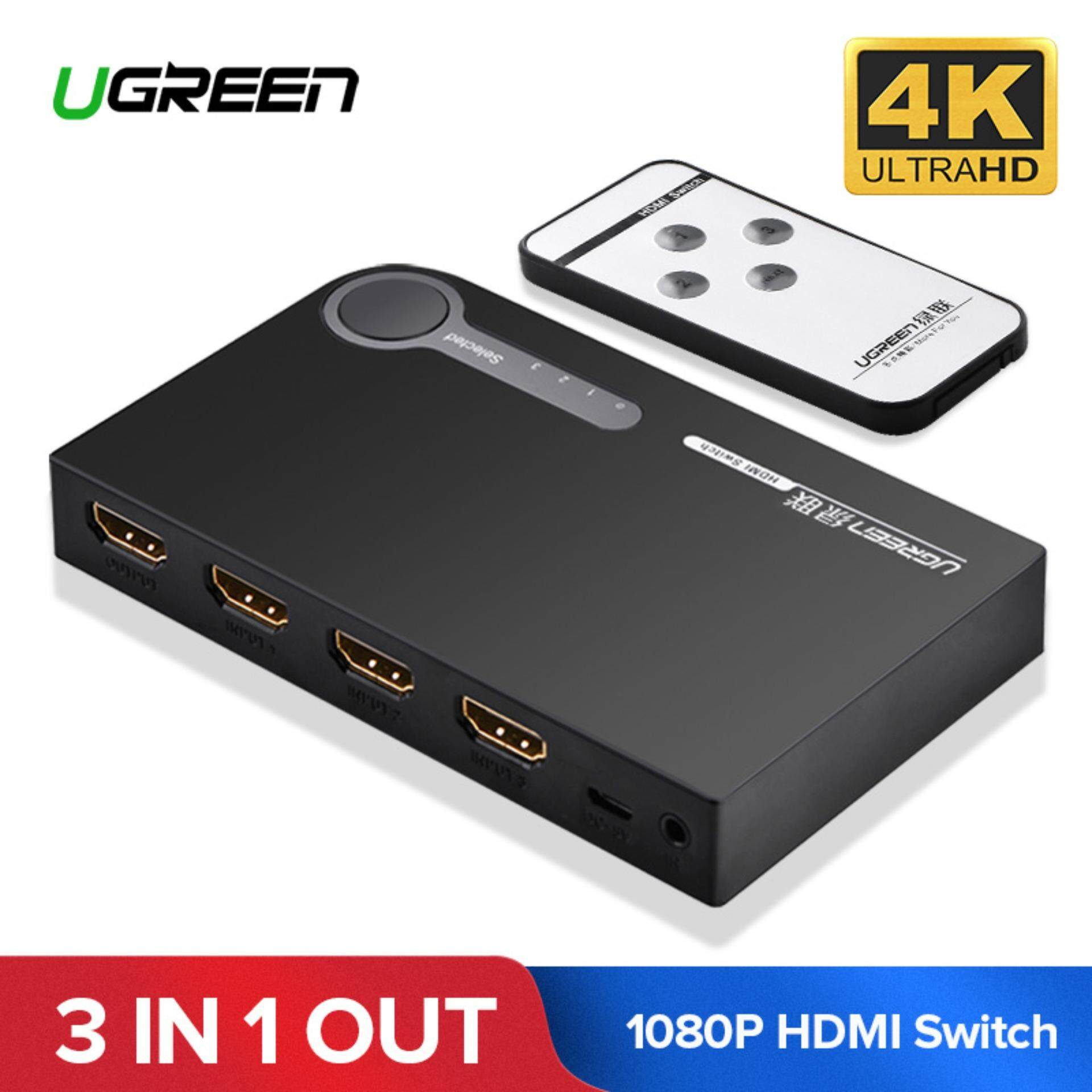 Buy Network Switches At Best Prices Lazada Malaysia Structured Wiring 8 Port Cable Tv Antenna System Splitter Module Ugreen Hdmi Switch 4k 3 Ports Switcher Hub 4k30hz 2k