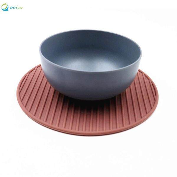 Qooiu Super Large Multifunctional Silicone Insulation Mat Fashion Table Mat Pot Food Grade Anti-Scalding Anti-Slip Mat Kitchen Accessories