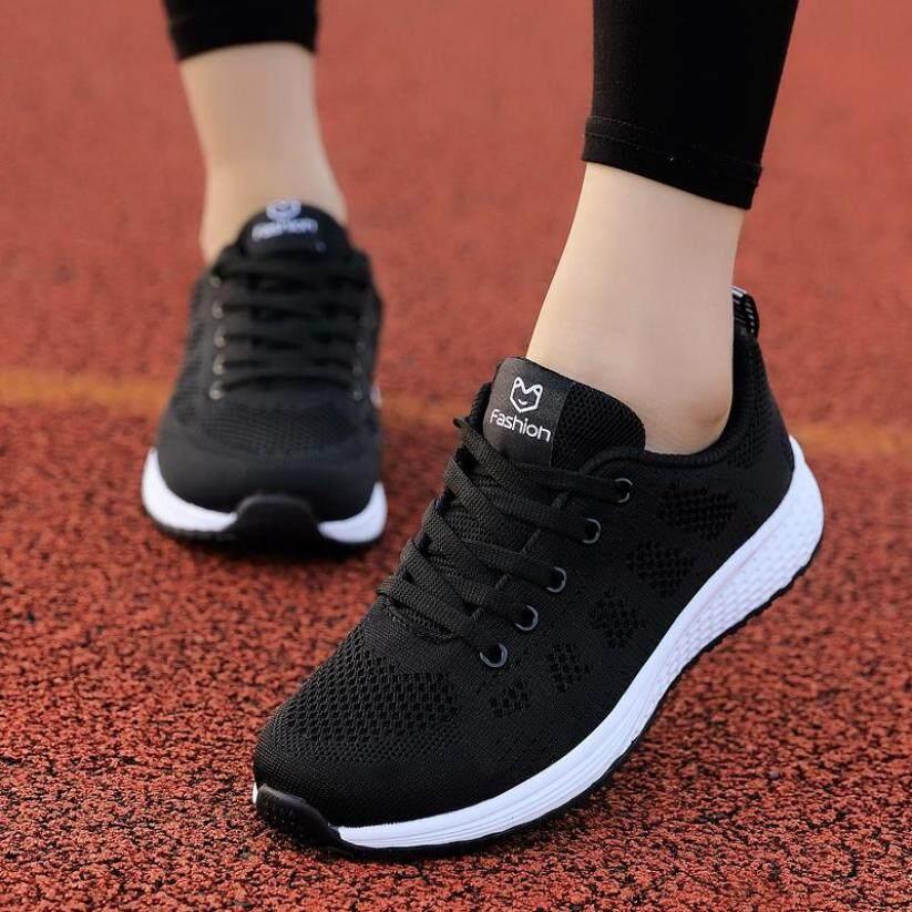 Giày Thể Thao Nữ Giày Nữ Mô Hình Vụ Nổ Chất Liệu Dệt Với Họa Tiết Bay Bốn Mùa Giày Thể Thao giá rẻ