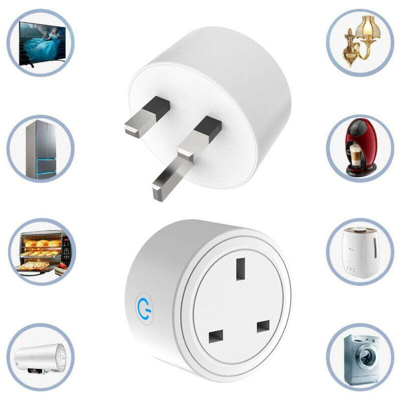 Smart WIFI Plug Socket Power Switch APP Remote Control Timer UK Home Automation