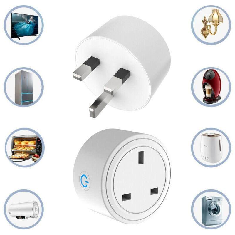 Smart Mini Intelligent WIFI Plug Socket Power Switch APP Remote Control Timer UK Home Automation