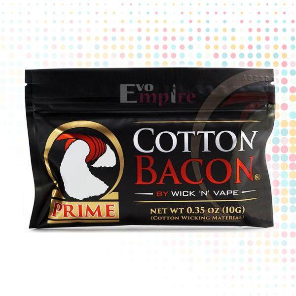 [evo Empire] Bacon Prime Cotton Wick N Vape Organic Wicking Made In The Usa (c) By Evo Empire.