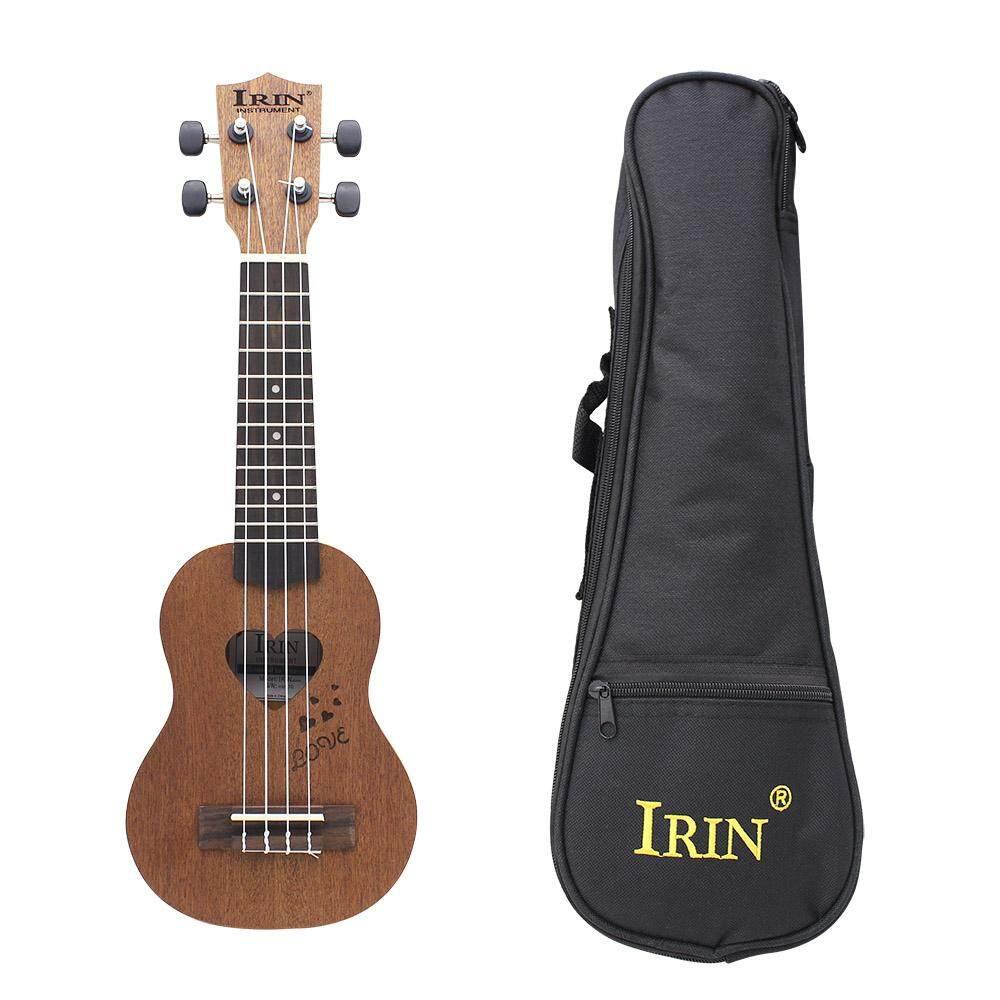 IRIN 17 Inch 12 Giải Tầng Đàn Ukulele Mini Đàn Guitar Hawaii Dụng Cụ Âm Nhạc Cho Trẻ Em Unisex Người Mới Bắt Đầu Đảng Chất Liệu