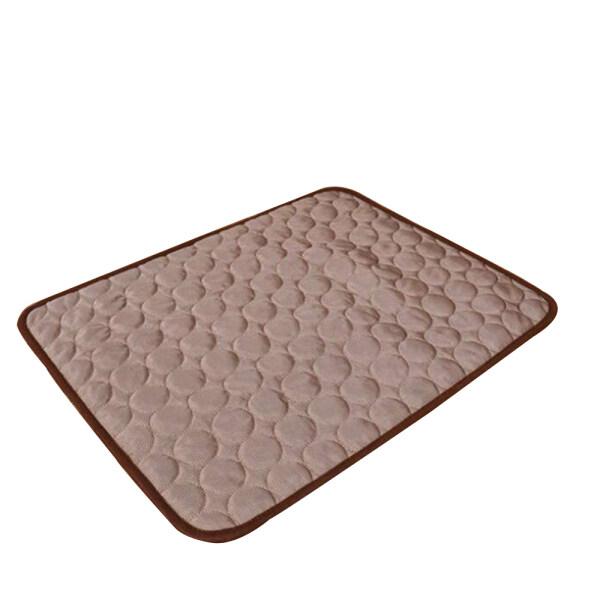 Mùa Hè Phong cách mới Dog Mat Ice Pad mát Pet giường sofa Mat làm mát Chăn có thể giặt Pet Ice Pad