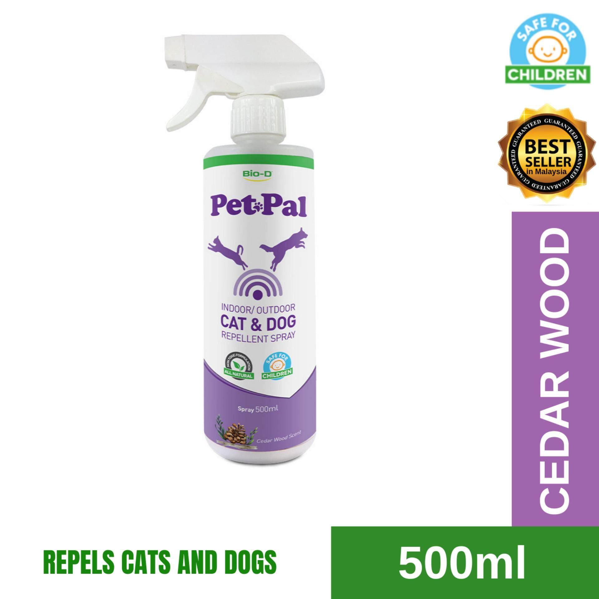 Bio-D Cat & Dog Repellent Spray 500ml (Cedar Wood Fragrance)