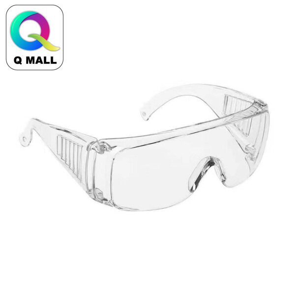 New Safety Eye Protection PPE Glasses Goggle Spec Eyeglasses (388-4) Clear