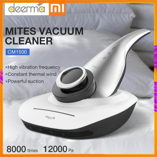 【100% Original】2019 Xiaomi Deerma CM1500 Vacuum Cleaner UV Mites 12000 Pa Hand-Held Anti-dust HEPA Vacuum Cleaner For bed Mattress Cushion Sofa Singapore