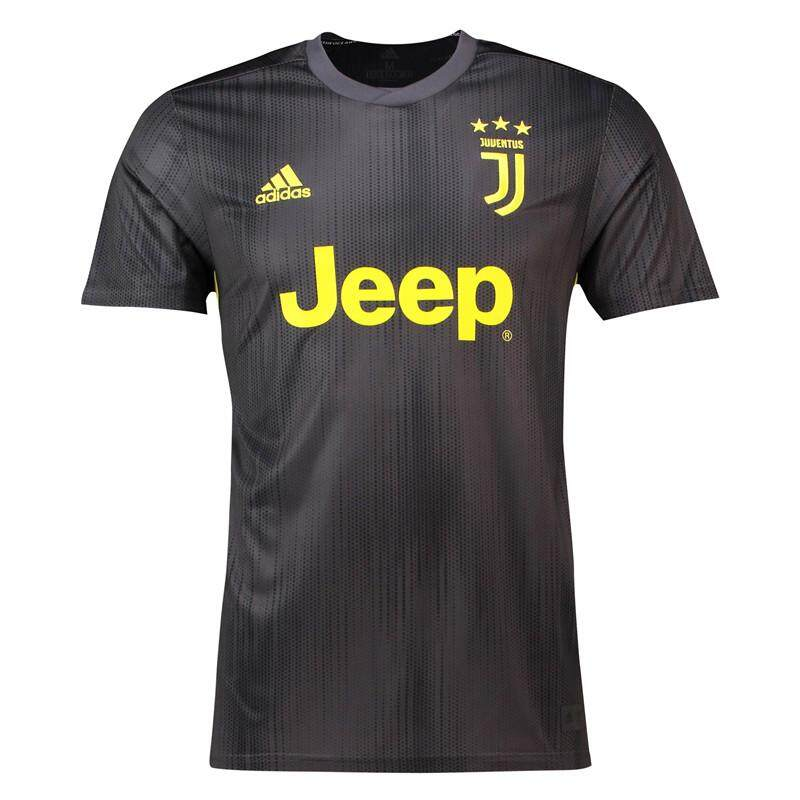 5d2ab0f4b6b Serie A Juventus18-19 football Champions League home team uniform  CristianoRonaldo Second Away short-