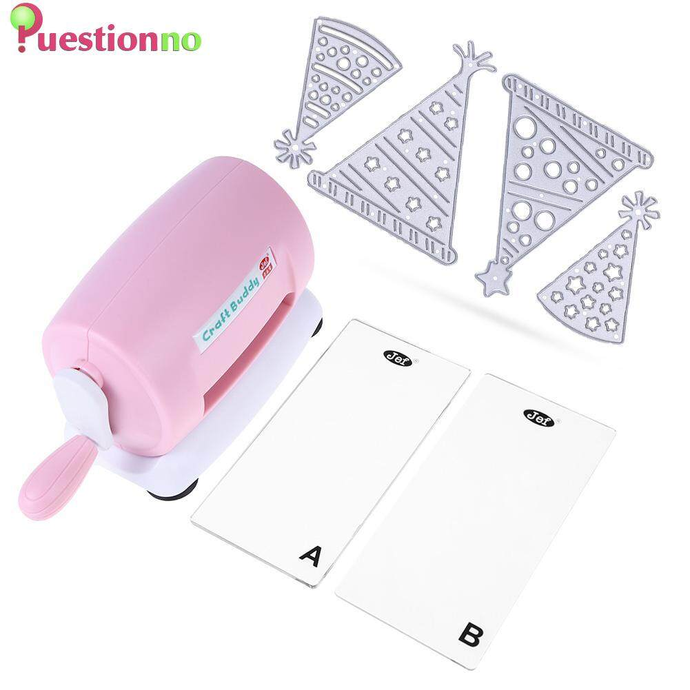 DIY Paper Cutting Emboss Machine Birthday Hat Dies Scrapbook Album Cutte