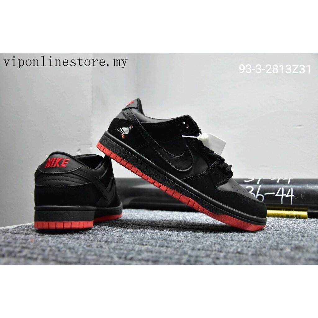 สอนใช้งาน  ราชบุรี Original_Nike_Dunk_SB_Low_Men_women_Sneakers_low_top_Sports_shoes_black