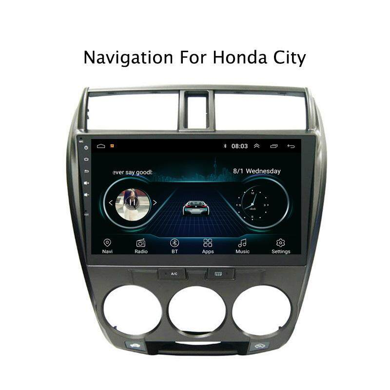 10.1inch 2.5d Ips Android 8.1 Car Dvd Gps For Honda City 2008 2009 2010 2011 2012 2013- Car Radio Stereo Head Unit With Navigation By Navitopia-Car Dvd Official Store.