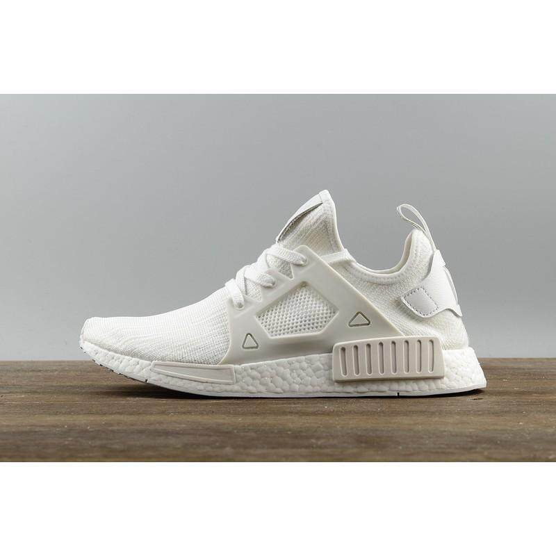 30aac538f Authentic Adidas NMD XR1 all white Casual women men low tops Shoe