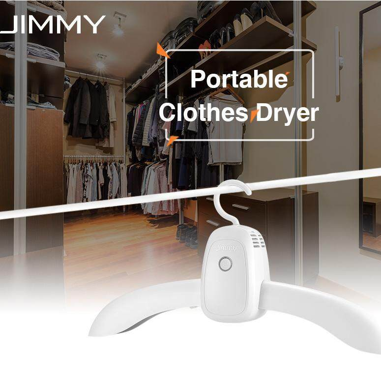 JIMMY GY101 Portable Electric Clothes Dryer Folding Hanger Hot Nature Wind
