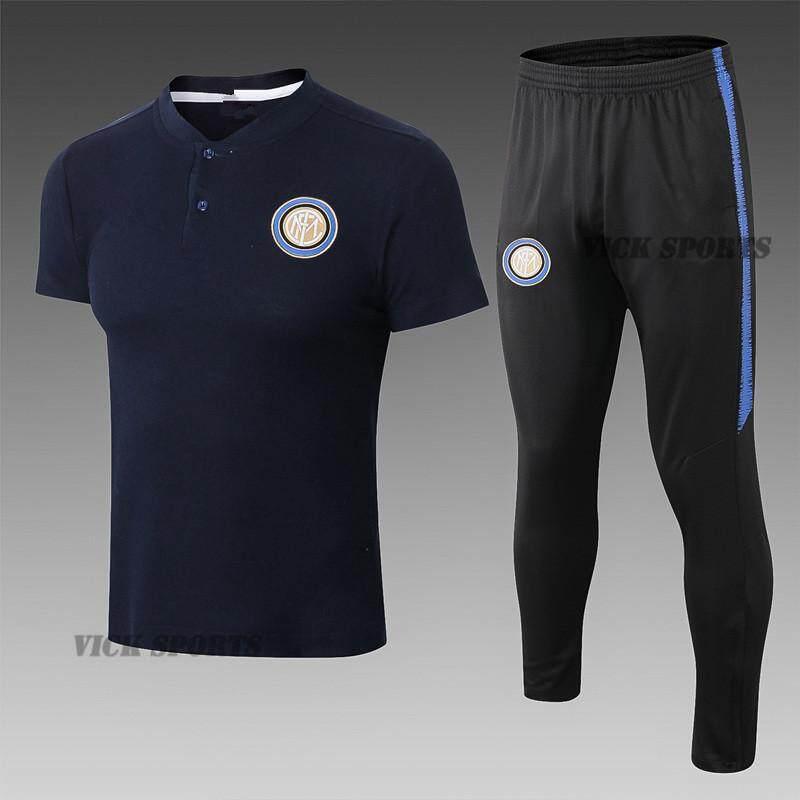 e550128ef 2019 Newest Inter Milan Football Jersey Polo Short Sleeve T-shirt Training  Wear Sportswear and
