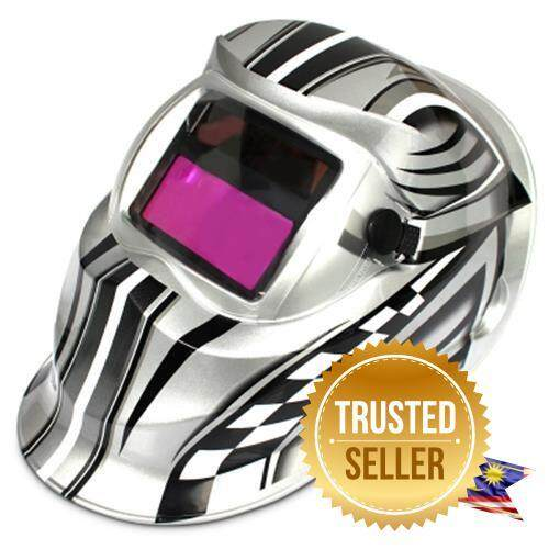 TRACK AND CAR MODEL DESIGN AUTOMATIC VARIABLE LIGHT ELECTRIC WELDING PROTECTIVE MASK (COLORMIX)