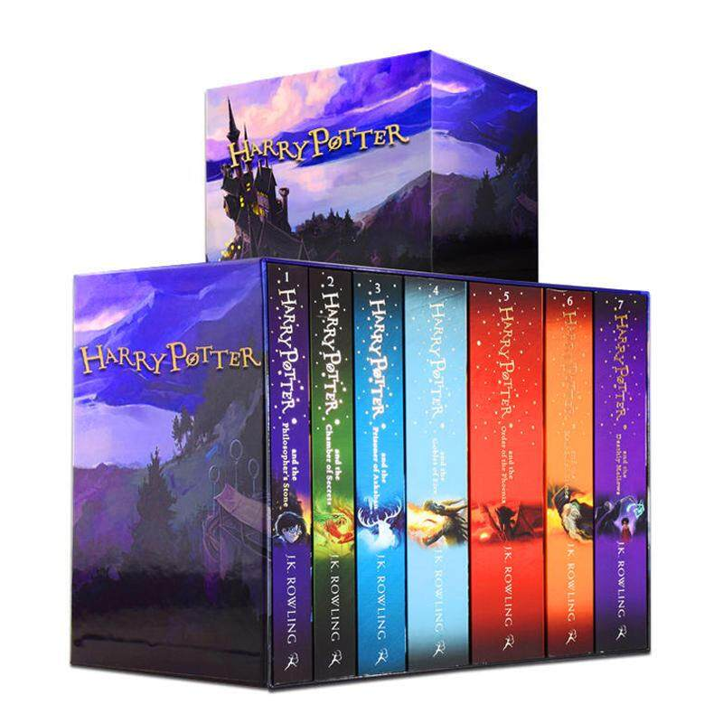 Harry Potter Series Books[uk Version] By Helloshopping.