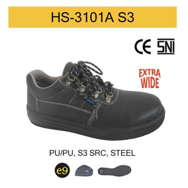 EUROSTAT Static Dissipative Safety Shoes (PU/PU) - S3 SRC (EXTRA WIDE)