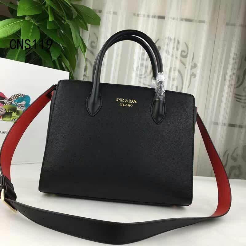 2019 Prada_small Handbags Leather Bag Original.