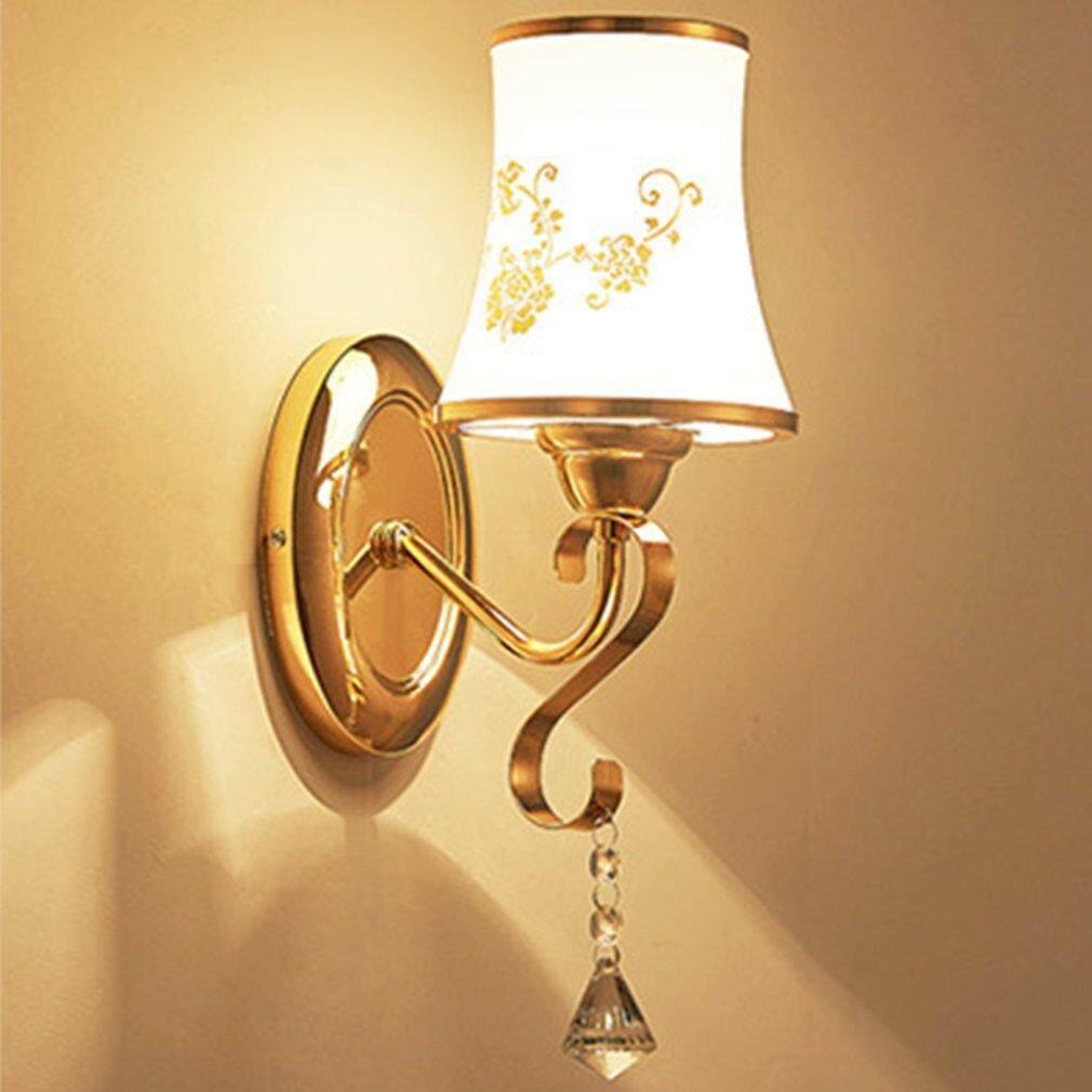 Crazy Sale Novelty Modern Minimalist Led Crystal Wall Light Lamp For Home Decoration B008