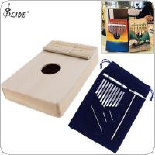 SLADE 10 Key Kalimba DIY Kit Beech Wood Thumb Piano Mbira for Handwork Painting Parents Child Campaign Malaysia
