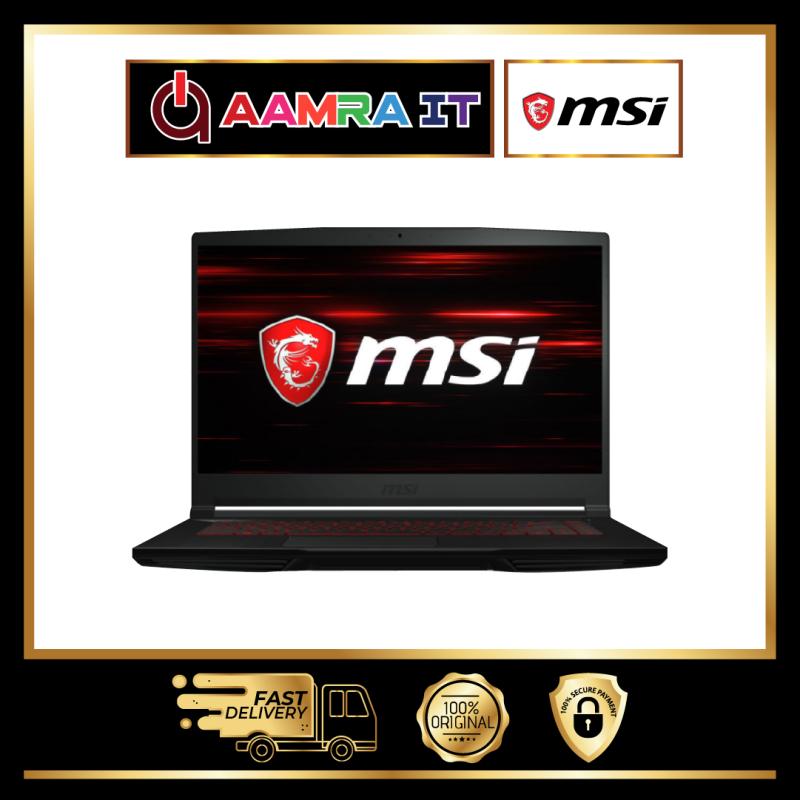 MSI THIN GF63 10SCSR-886 15.6 FHD 144Hz Gaming Laptop Black (i7-10750H, 8GB, 512GB SSD, GTX 1650Ti 4GB Max-Q, W10) Malaysia