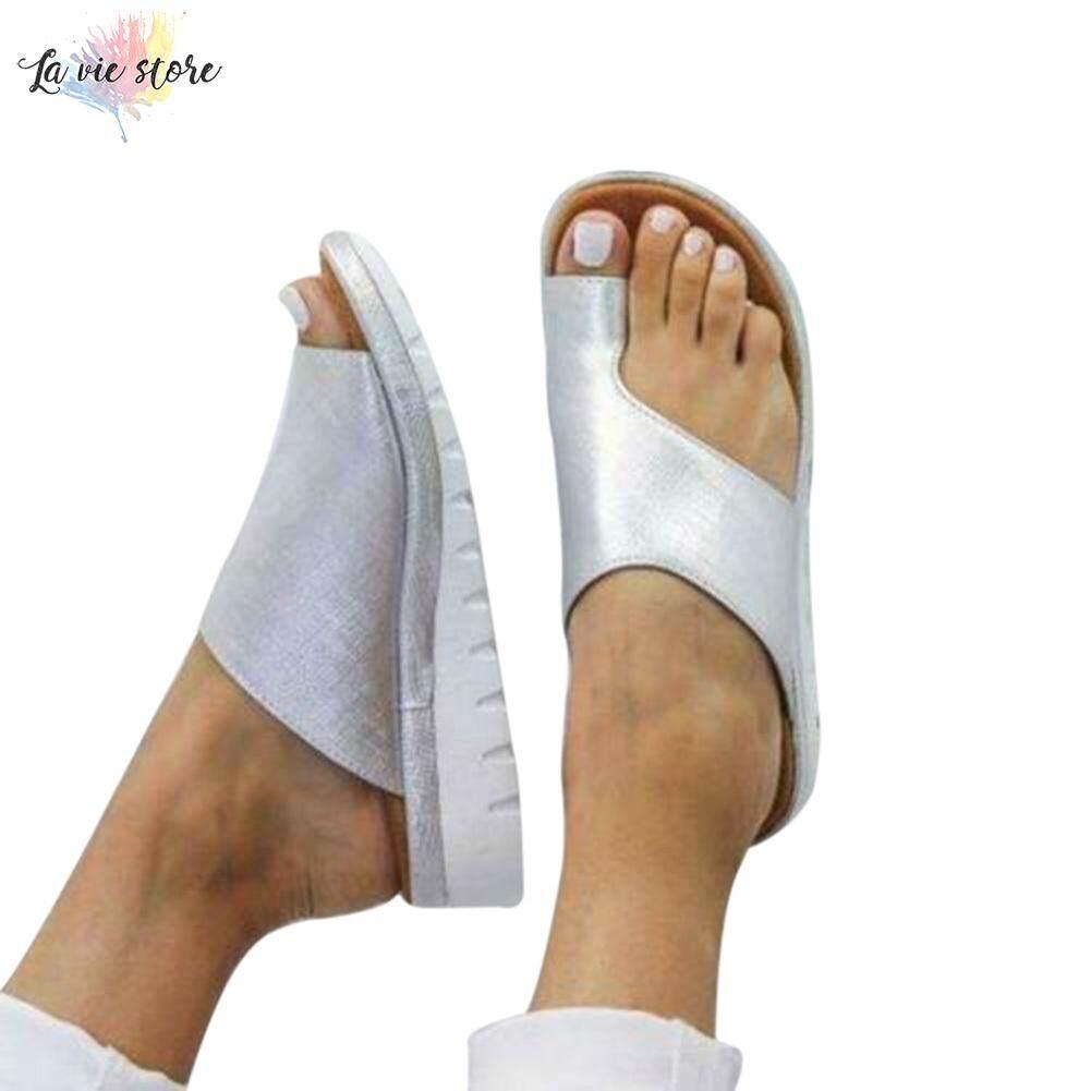 Giá bán La VIS Nữ Thoải Mái Nền Tảng Giày Sandal Đi Biển Mùa Hè Giày Du Lịch